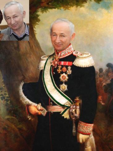 Где заказать исторический портрет по фото на холсте в Одессе?