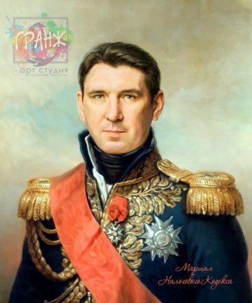 Портрет по фото на холсте в подарок мужчине Одесса