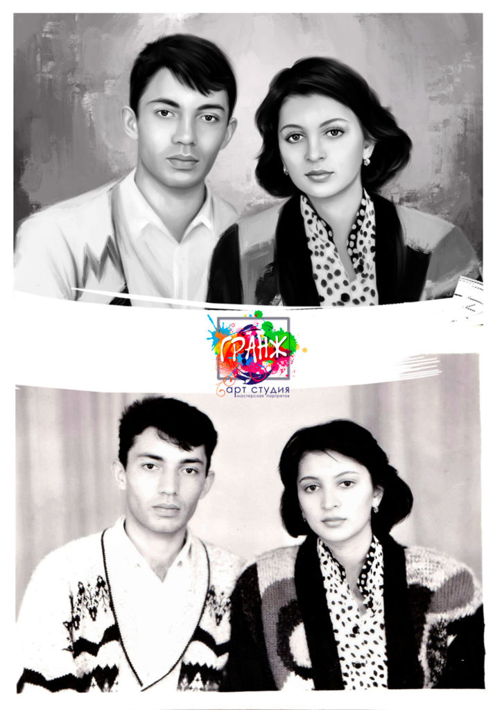 реставрация черно белого фото отзывы