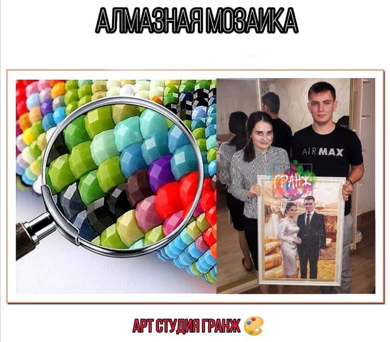 Алмазная мозаика по фото заказать в Одессе